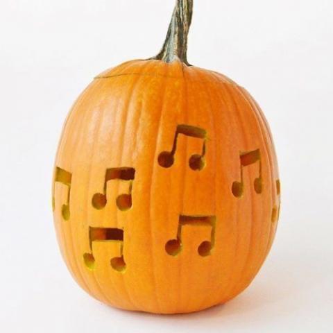 Music pumpkin